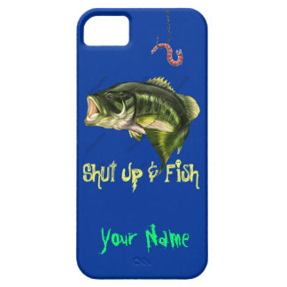 Shut Up & Fish - Large Mouth Bass iPhone 5 Case