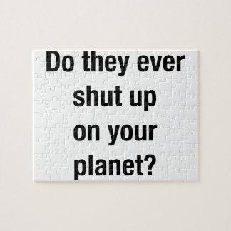 SHUT UP! PUZZLES