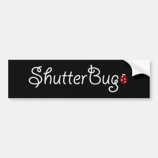 Shutter Bug Bumper Sticker