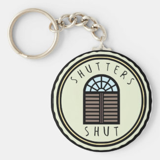Shutters Shut! Keychain