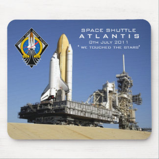 SHuttle Atlantis commemorative mouse may Mouse Pad