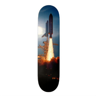 Shuttle Discovery Launch STS-64 Skateboards