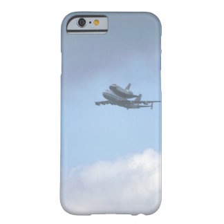 """Shuttle """"Discovery"""" near_Military Aircraft Barely There iPhone 6 Case"""