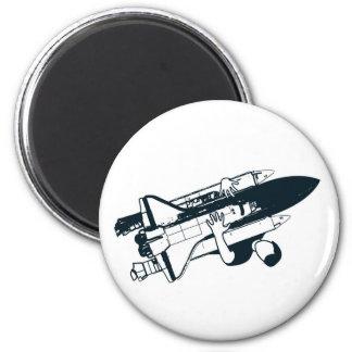 Shuttle Hugger Magnet