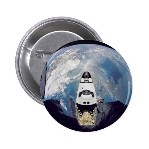 Shuttle Over Earth Button