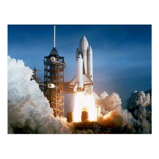 """Shuttle Shuttle"" Postcard"