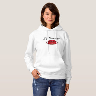 Shutup-Zip Your Lips Hoodie