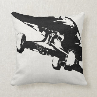 Shuvit Shove-It Skateboard Pillow Black & White
