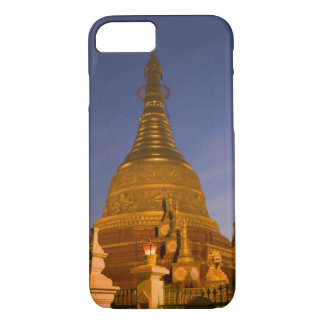 Shwe Myin Tin Temple, dusk, Make Tehi Lar, iPhone 7 Case