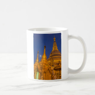 Shwedagon Pagoda at night, Myanmar Coffee Mug