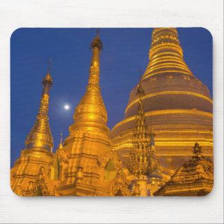 Shwedagon Pagoda at night, Myanmar Mouse Pad