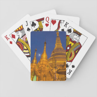 Shwedagon Pagoda at night, Myanmar Poker Deck