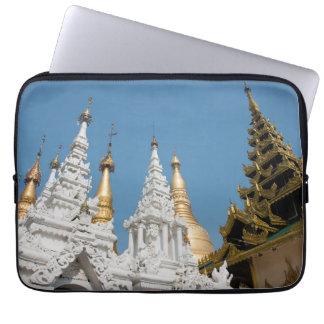 Shwedagon Pagoda Exterior Laptop Sleeve