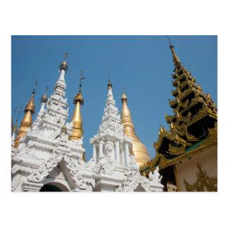 Shwedagon Pagoda Exterior Postcard