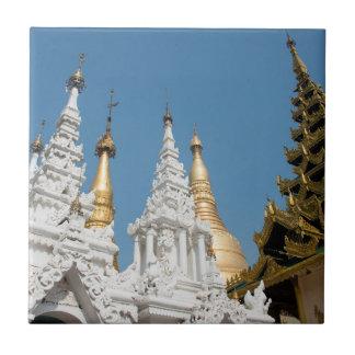 Shwedagon Pagoda Exterior Tile