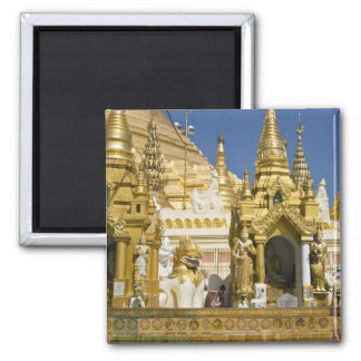 Shwedagon Pagoda (Paya), large temple site that Square Magnet