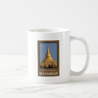 Shwedagon Pagoda Yangon Myanmar Coffee Mug