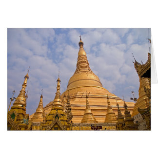 Shwedagon Paya • Greeting Card
