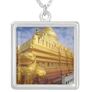 Shwezigon Pagoda in Bagan, Bagan (Pagan), Silver Plated Necklace
