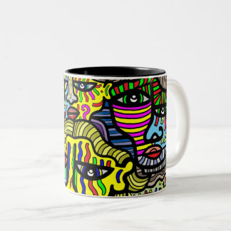 """Shy"" 11 oz Two-Tone Mug"