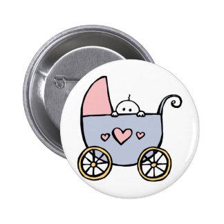 Shy Baby 2 Inch Round Button