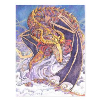 Shy Dragon Postcard