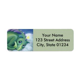 Shy Dragon return address labels