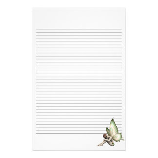 Shy Fairy Lined Stationery