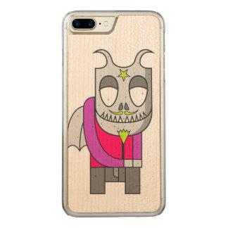 Shy Little Devil Carved iPhone 8 Plus/7 Plus Case