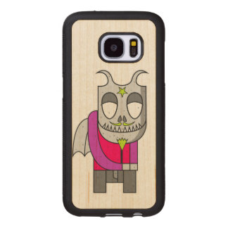 Shy Little Devil Wood Samsung Galaxy S7 Case