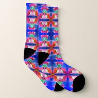 Shy Shy Blue Socks