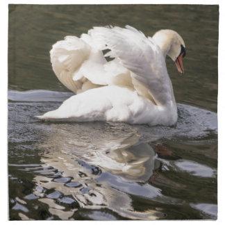 Shy Swan Napkin