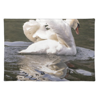 Shy Swan Placemat