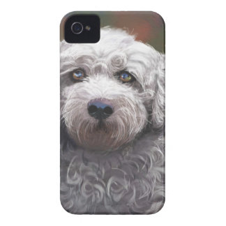 Shyanne Bichon Frise/ King Charles Cavalier iPhone 4 Case-Mate Cases