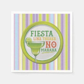 Sí a la Fiesta HHM Party Paper Napkins