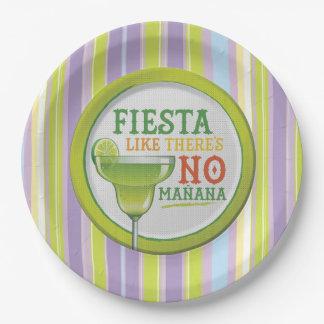 Sí a la Fiesta HHM Party Paper Plates
