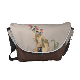 Si and Am Listening Messenger Bag