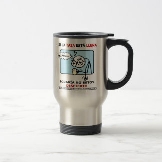 Si la taza está llena... travel mug