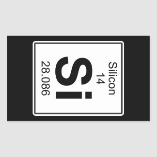 Si - Silicon Sticker