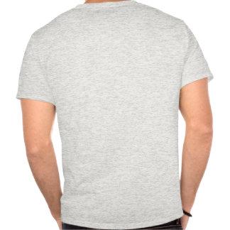 Si un homme parle son esprit dans la forêt et auc t-shirts