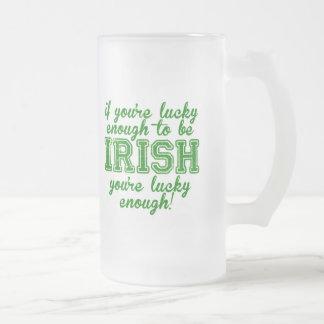 Si vous êtes assez chanceux pour être irlandais mug