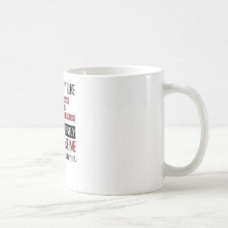 Si vous n'aimez pas des règles composées mug blanc