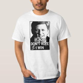 Si vous ne votez pas des victoires de harpiste tshirts