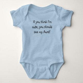 Si vous pensez que je suis mignon, vous devrais t shirt