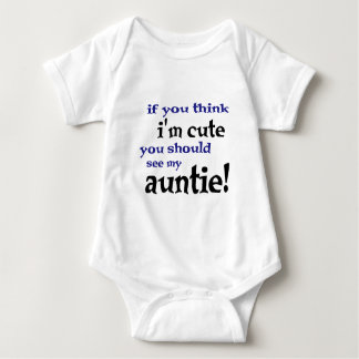 Si vous pensez que je suis mignon vous devriez t shirt