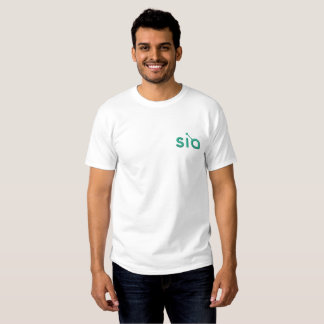 Sia Embroidered Men's Embroidered T-Shirt