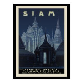 Siam Beautiful Bangkok Postcard