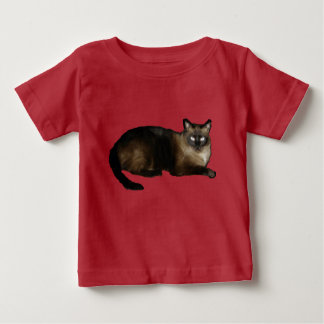 Siamese Baby Fine Jersey T-Shirt