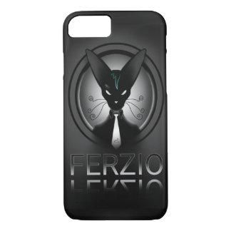 Siamese Black Cat Punk iPhone 7 Case