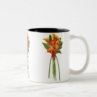 Siamese Callas Two-Tone Coffee Mug